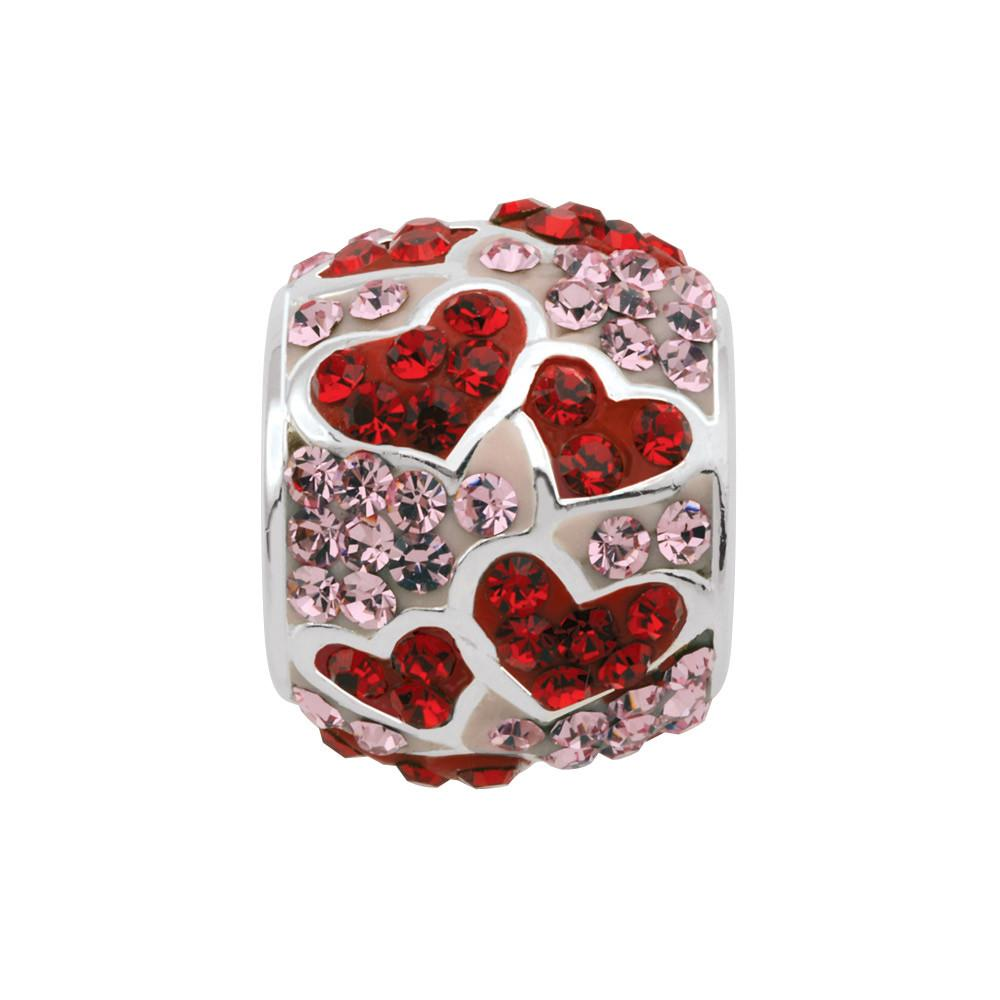 Shimmering Hearts Persona Charms Pink