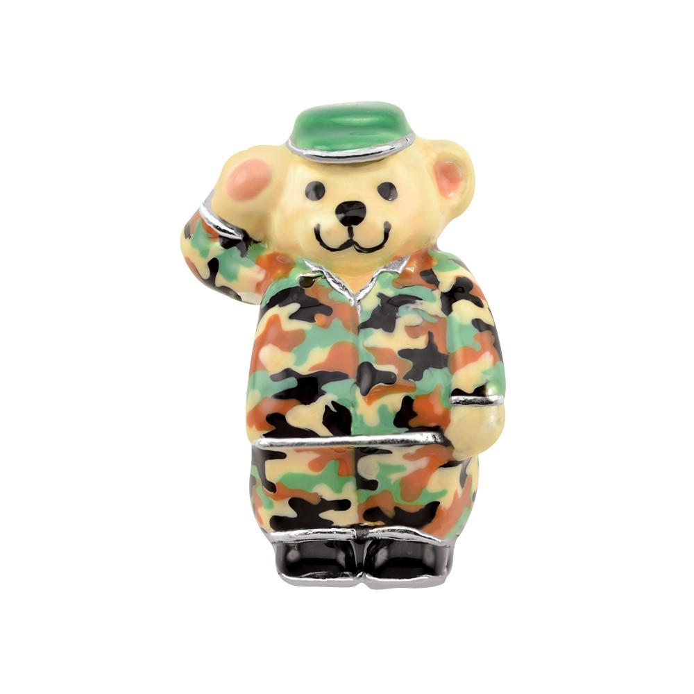 Army Bear Persona Charms  Green