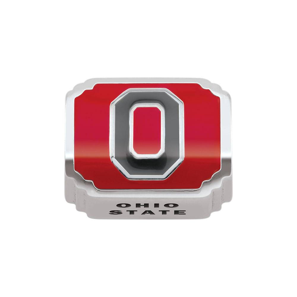Ohio State U Campus Life Charms Sterling Silver Enamel Ohio State University schools