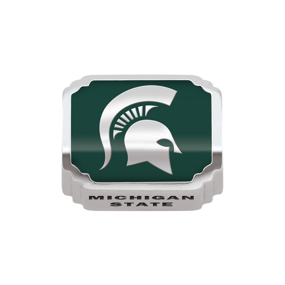 Michigan State U Campus Life Charms Sterling Silver Enamel Michigan State University schools