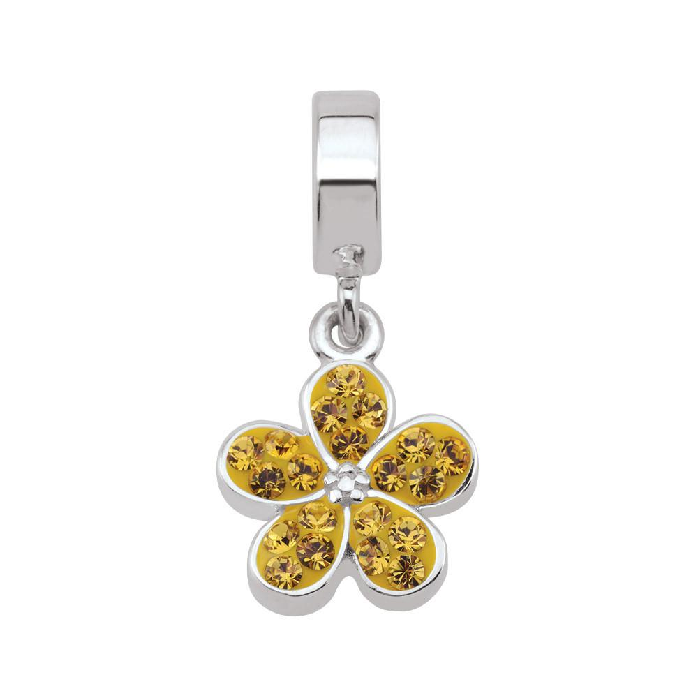 Yellow Promise Garden Flower Persona Charms  Yellow