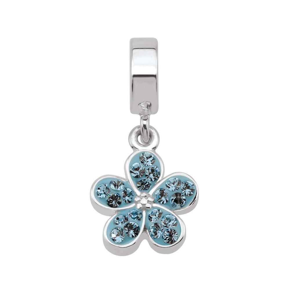 Blue Promise Garden Flower Persona Charms  Blue