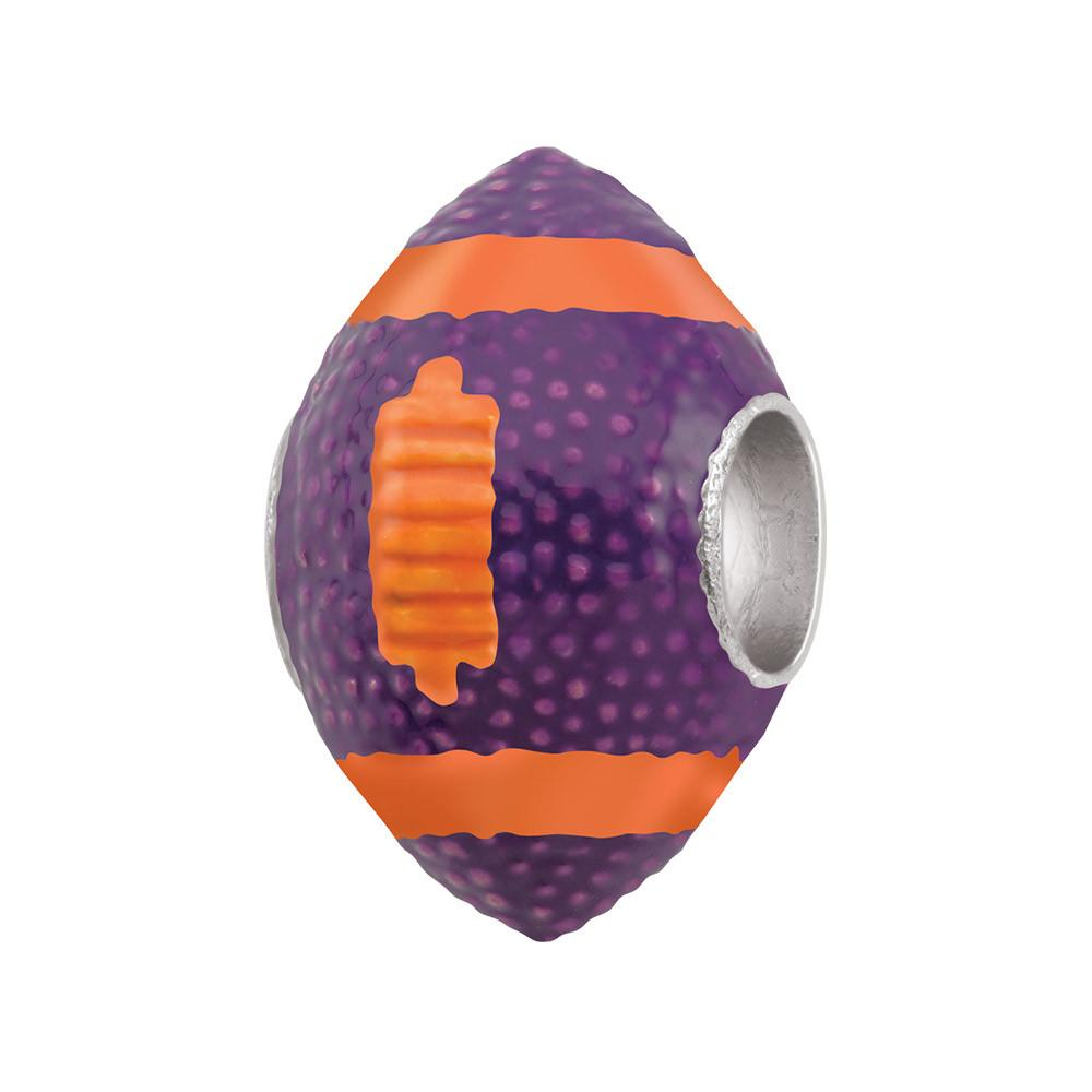 Purple Orange Football