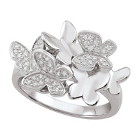 Fluttering Butterfly Ring