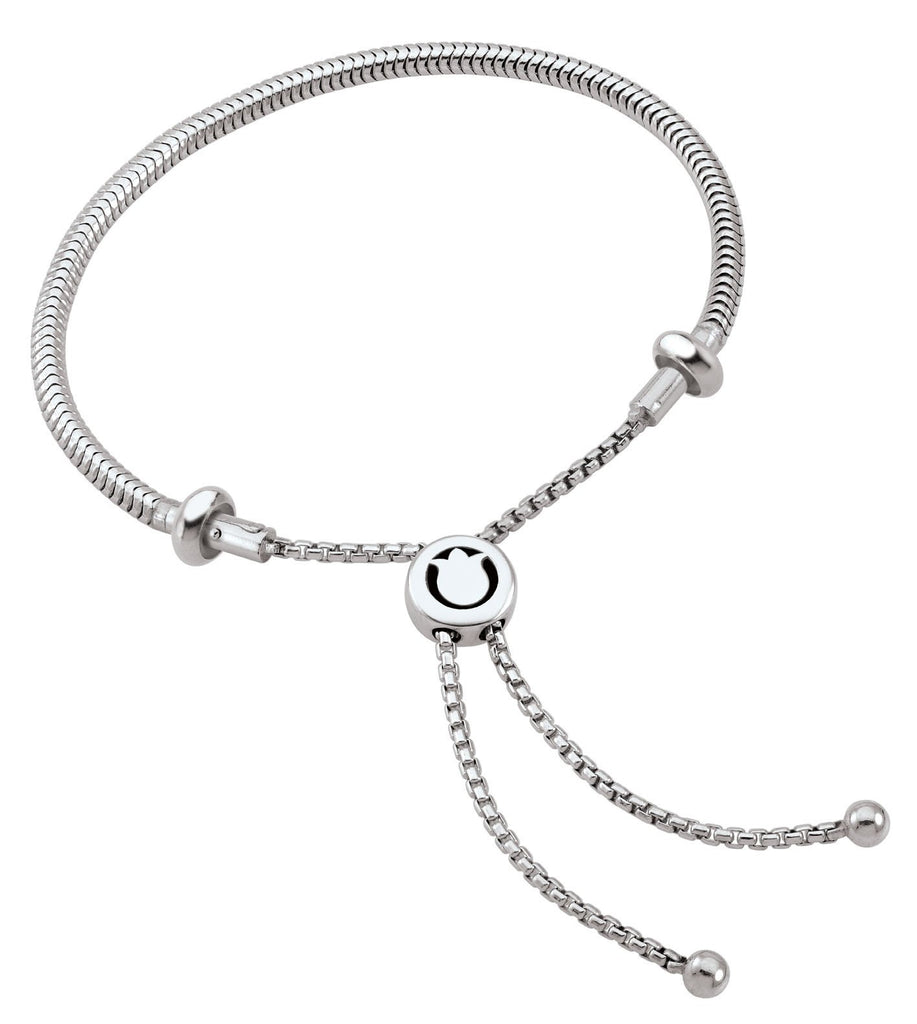 Sterling Silver Charm Bracelet Bolo Persona Jewelry