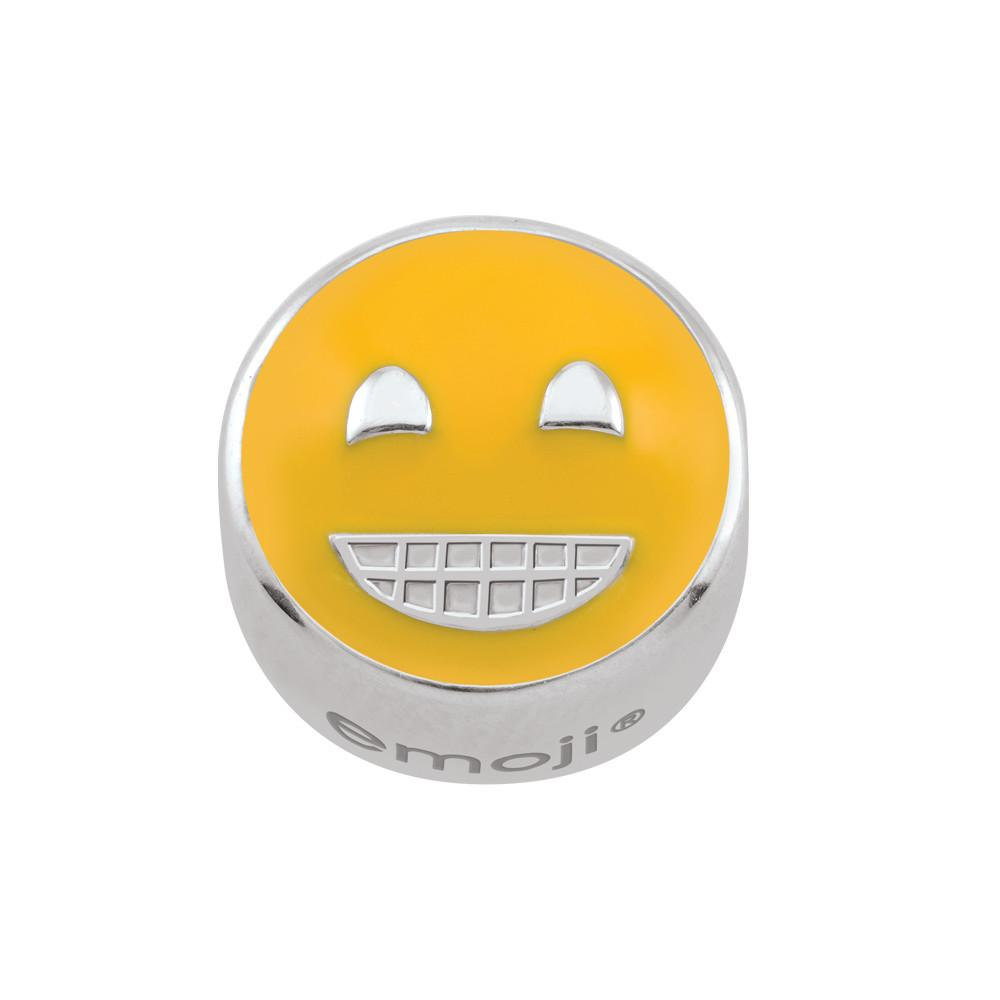 Grinning emoji Persona Charms  Yellow