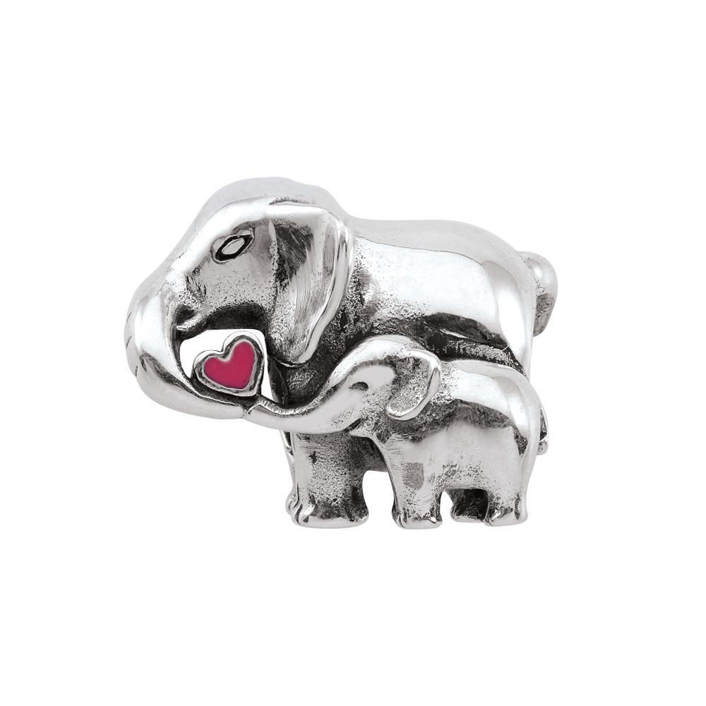 Elephant Love Persona Charms  Silver