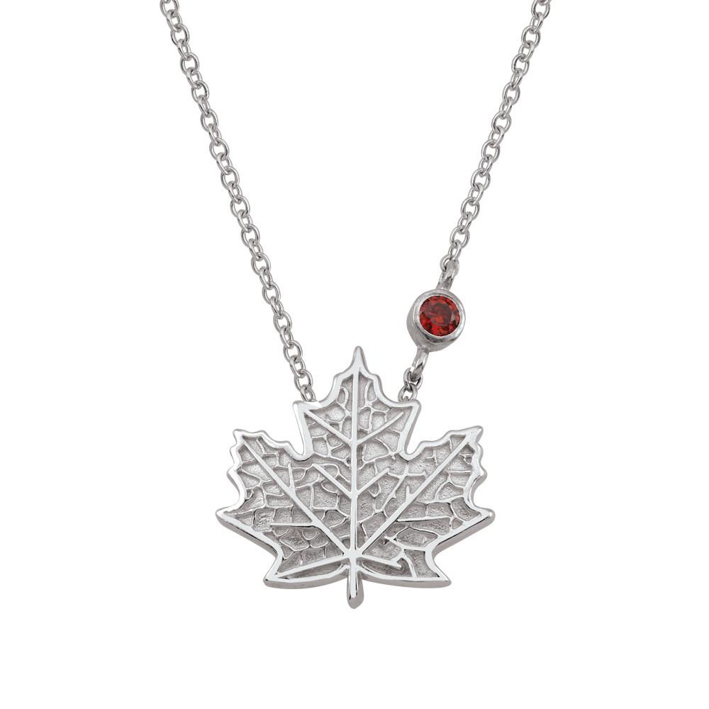 necklace bronze leaf maple vividbloom products img