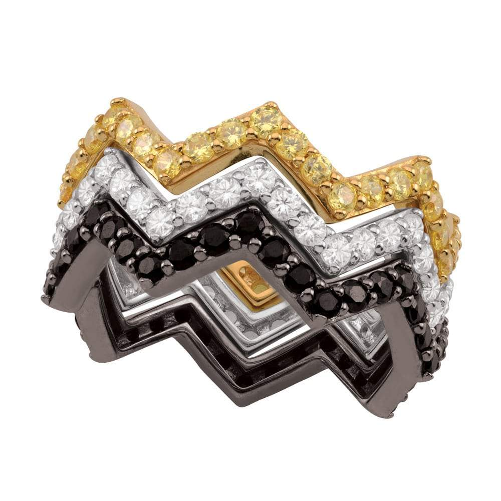 Charlie Brown Zig Zag ring Peanuts jewelry