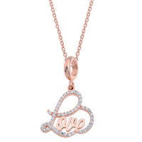 Love Rose Necklace Set