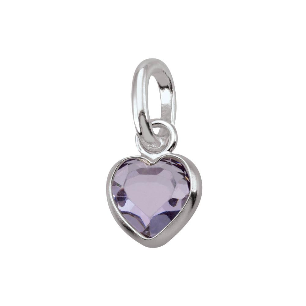 June PersonaPhi style Charms finish Sterling Silver Jewelry occasion Birthday color Purple