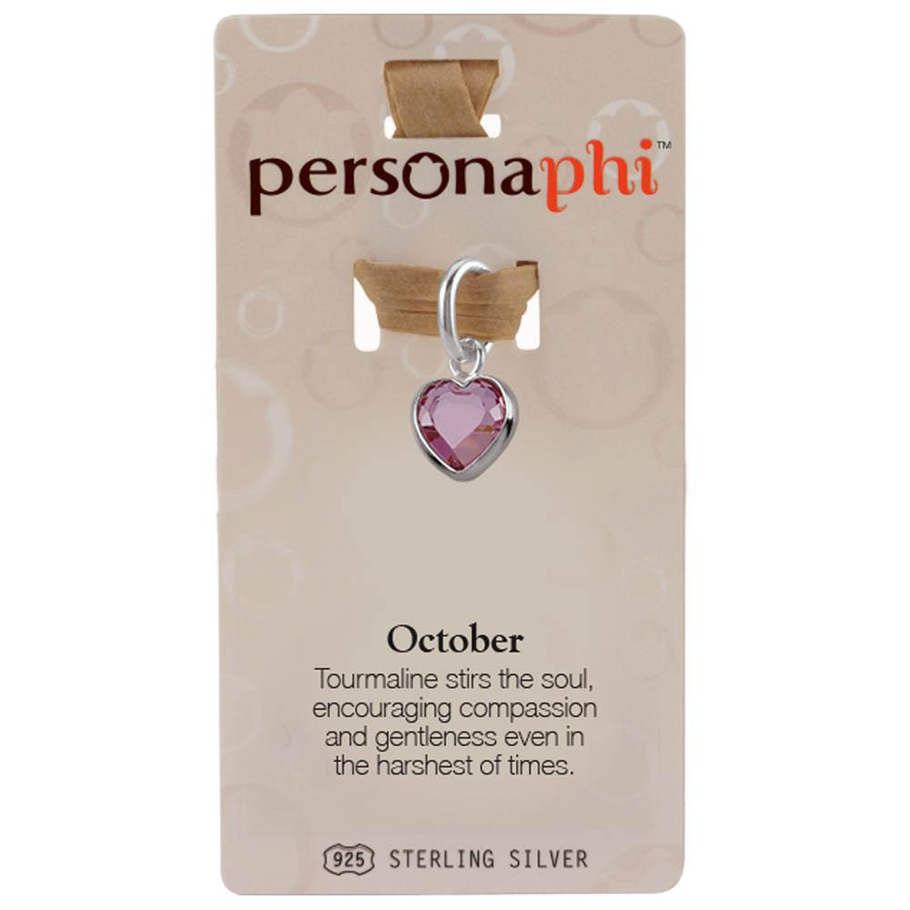 October Birthstone Amulet color Pink Persona jewelry