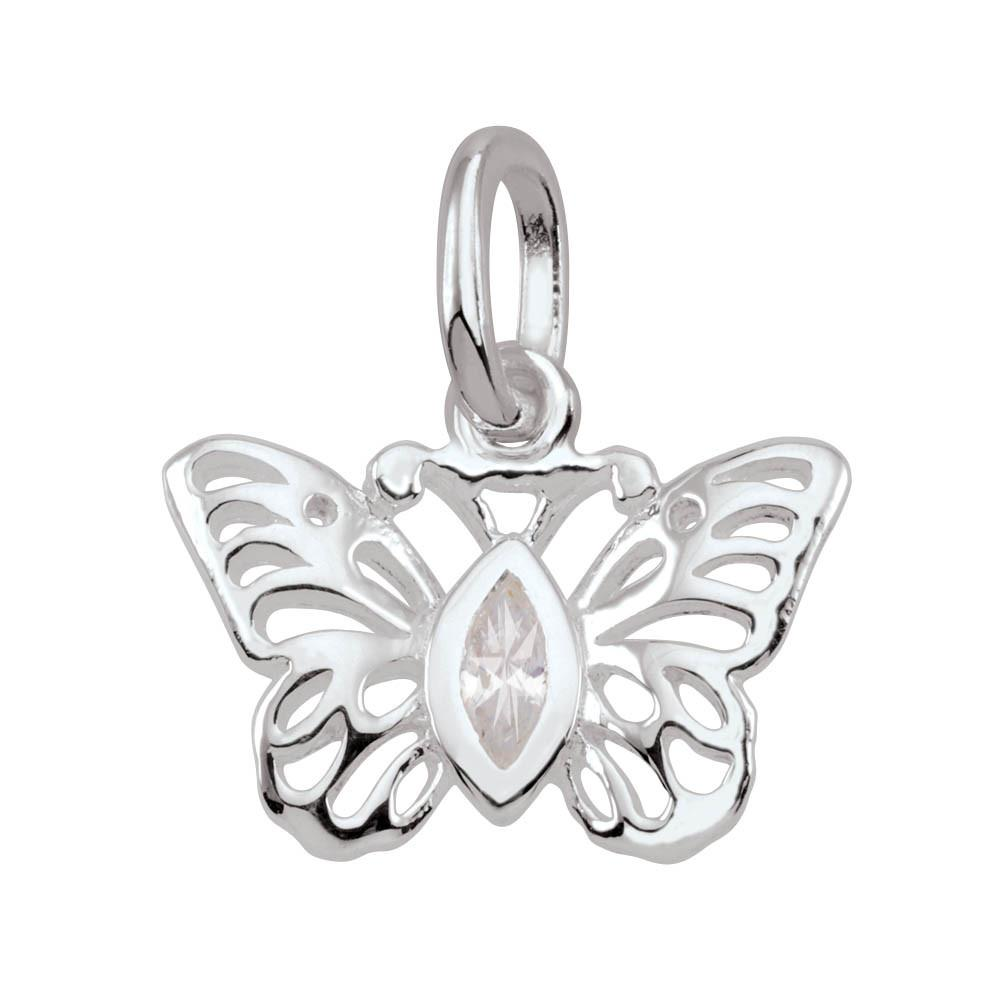Flutter Persona jewelry  Amulets color White
