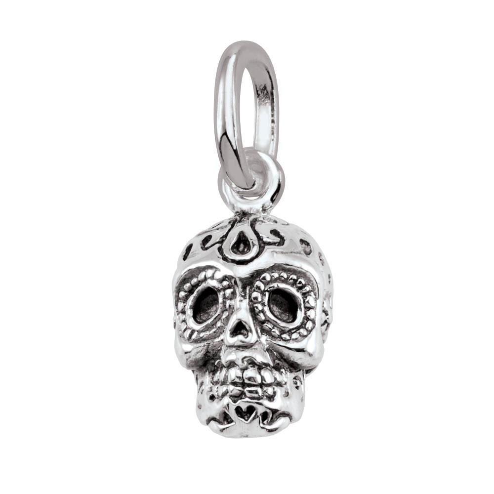 Sugar Skull Persona jewelry  Amulets color Silver