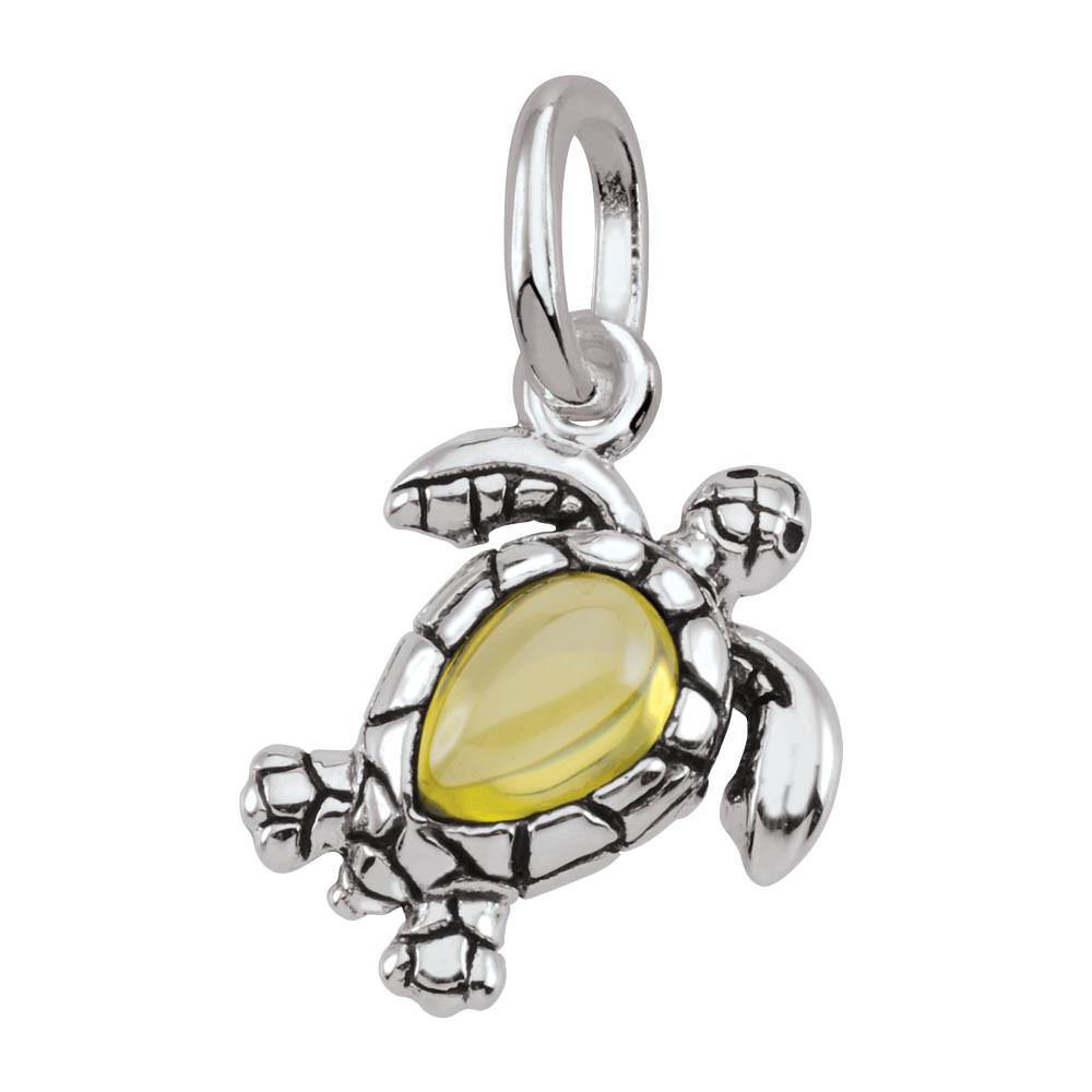Turtle Persona jewelry  Amulets color Yellow
