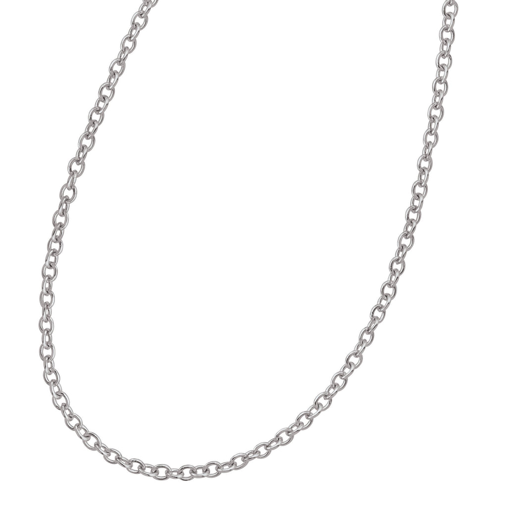 Fine Rolo Chain Persona jewelry  Necklaces color Silver