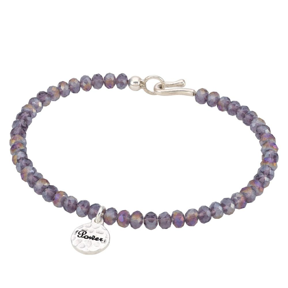 Purple Power Bangle
