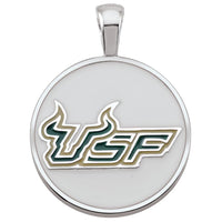 U of South Florida Pendant White
