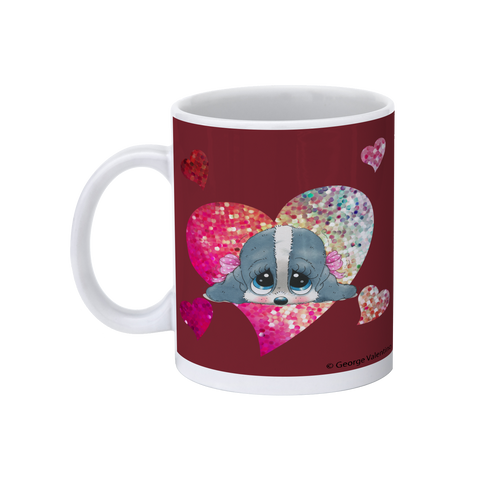 Honey® Head Heart 11oz Mug