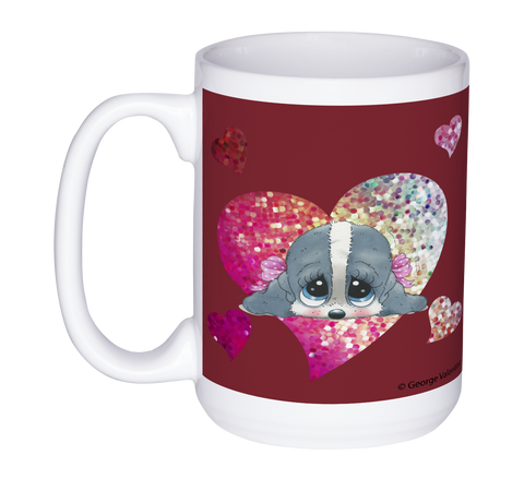 Honey® Head Heart 15oz Mug