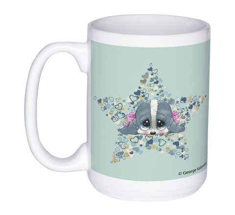 Honey® Head Star 15oz Mug