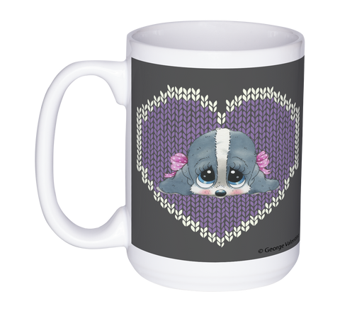 Honey® Head Hearts 15oz Mug