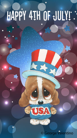 4th of July E-Card