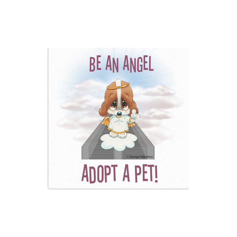 Be an Angel Canvas 12x12