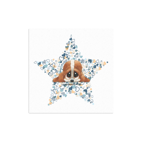 Sam® Head Stars Canvas 12x12