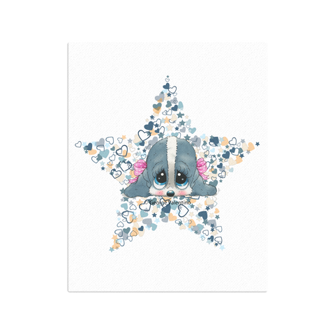 Honey® Head Star Canvas 16x20
