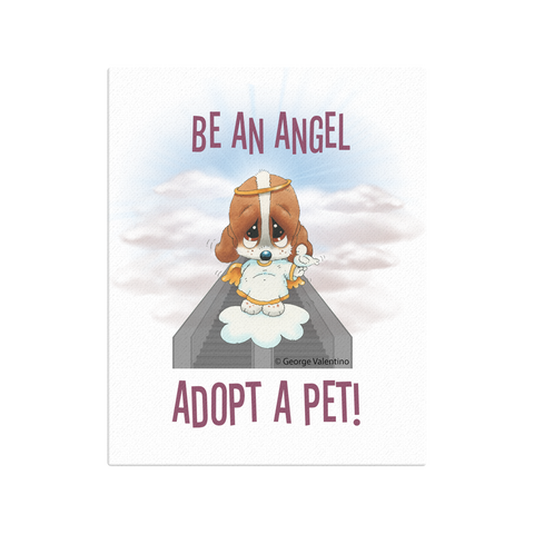 Be an Angel Canvas 16x20
