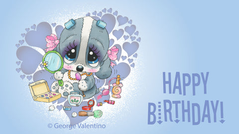 Happy Birthday! E-Card