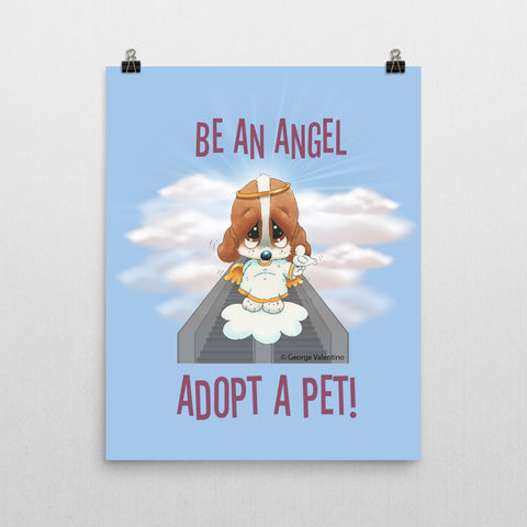 Be an Angel Poster 16x20