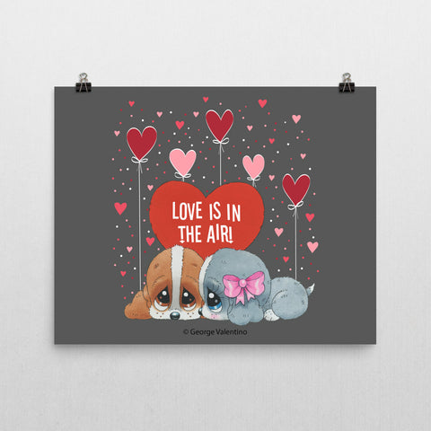Love is in the Air Poster 16x20
