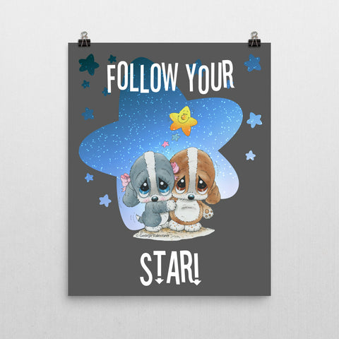 Follow Your Star Poster 16x20