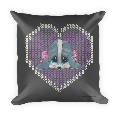 Honey® Head Hearts Pillow