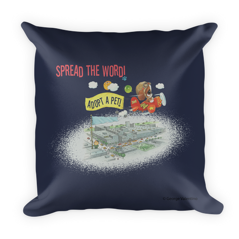 Spread the Word Pillow