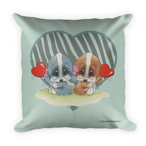 Zebra Hearts Pillow