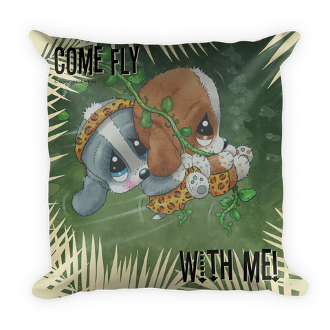 Come Fly With Me Pillow
