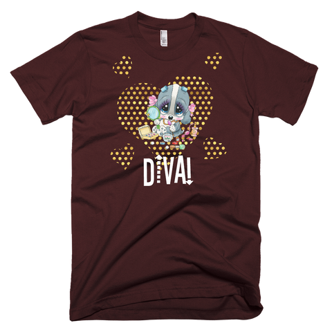 Diva! (Brown) T-Shirt