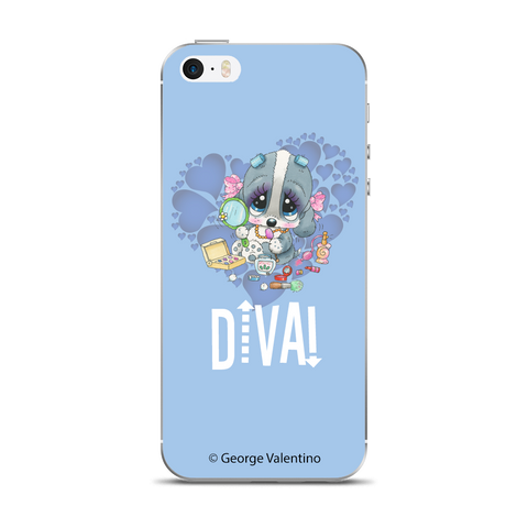 Diva! (Blue) Phone Case