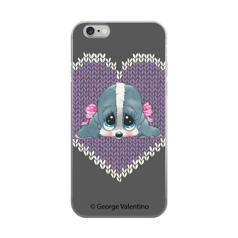 Honey® Head (Hearts) Phone Case