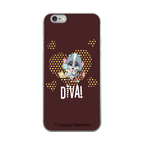 Diva! (Brown) Phone Case