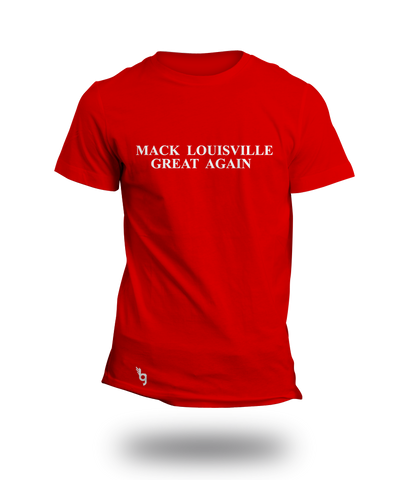 M.L.G.A. red (MACK LOUISVILLE GREAT AGAIN)