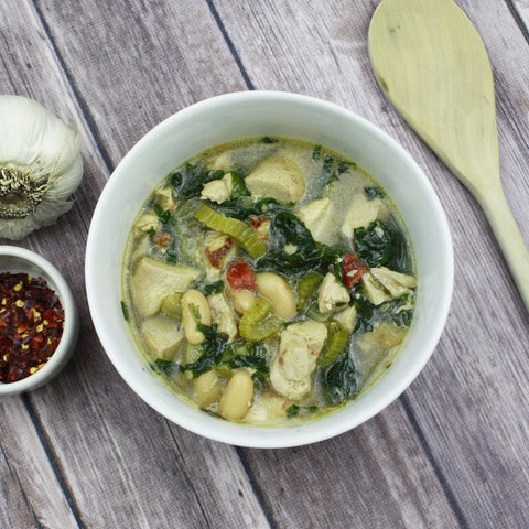 Kale & Cannellini Chicken Soup