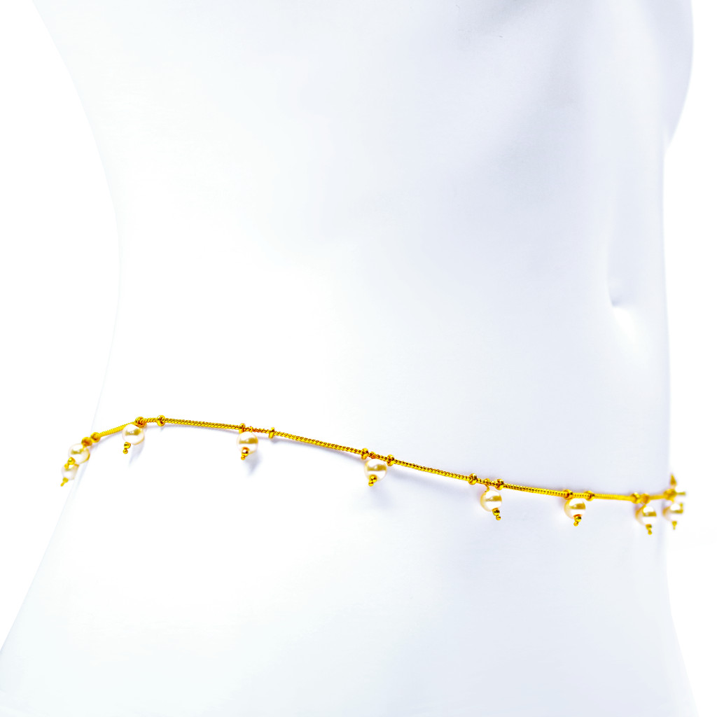 Iris Gold Plated Belly Chain