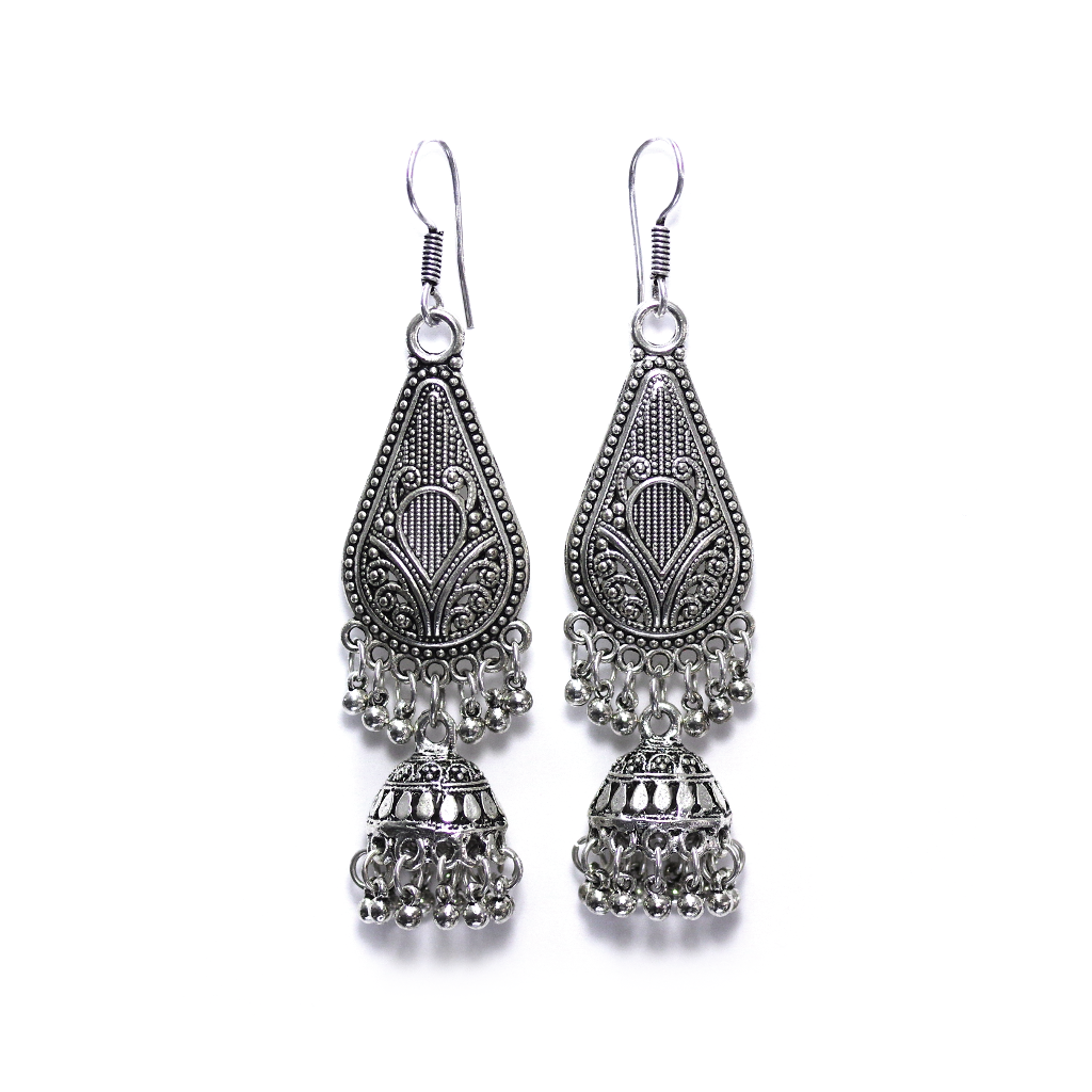 Dabri Jhumka Drop Earrings