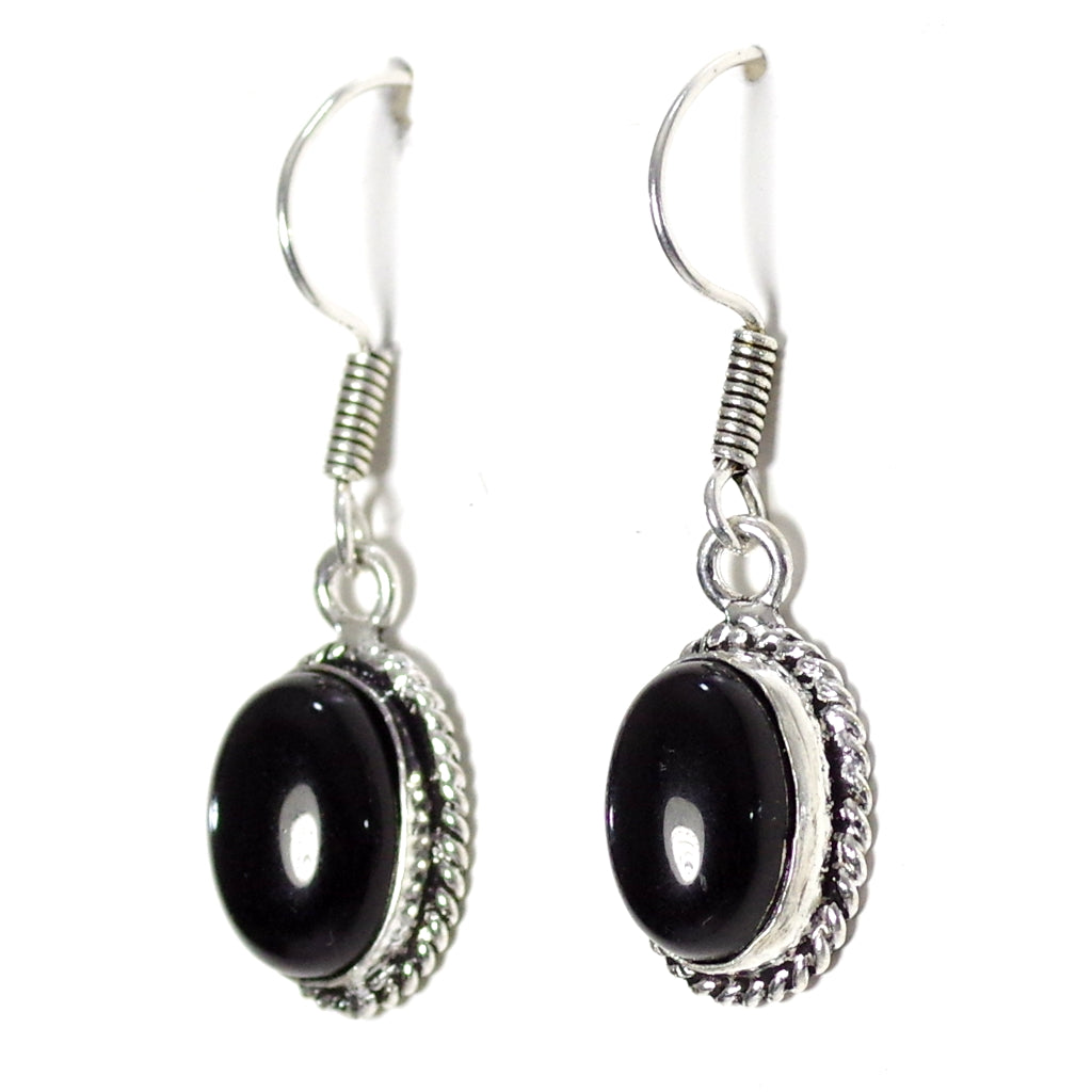 Myra Black Earrings