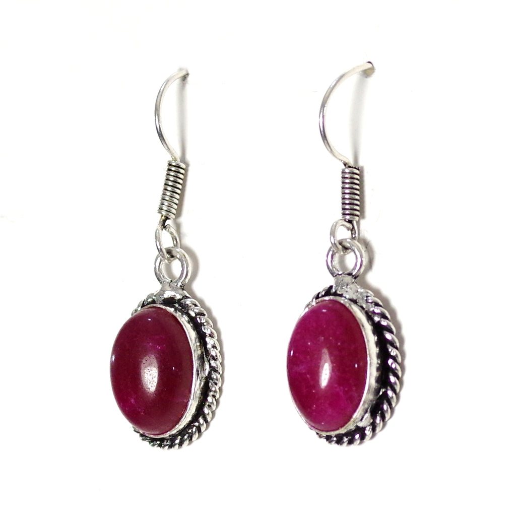 Myra Red Earrings