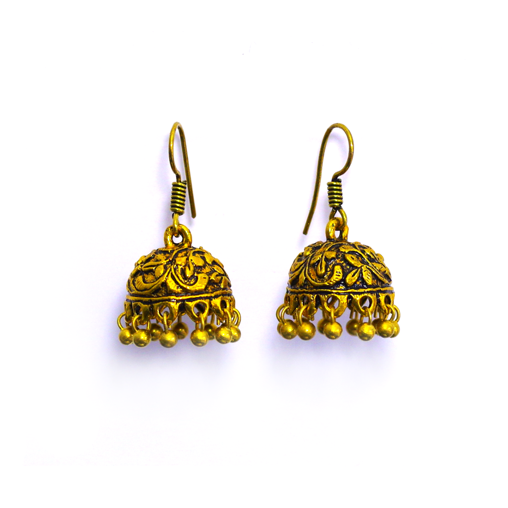 Banhi Jhumka Earrings